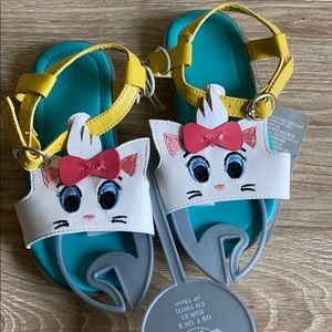 New Disney Marie Aristocats Sandals
